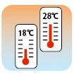 不快な温度差