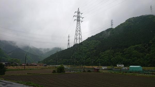 雨の日の景色